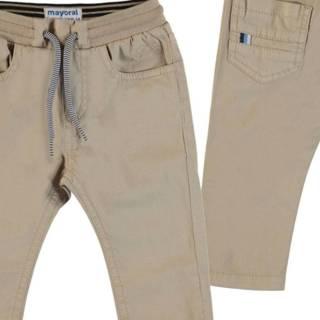 Pantalón - Pantalón Sarga Cintura Patente