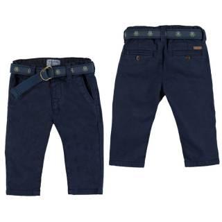 Pantalón - Pantalón chino forrado - cinturón