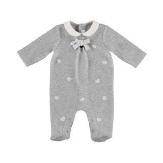 Pijama - Pijama bordado tundosado