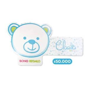 Bono regalo - Bono regalo $50.000