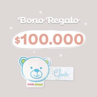 Bono regalo - Bono Regalo $100.000