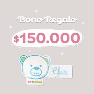 Bono regalo - Bono Regalo $150.000