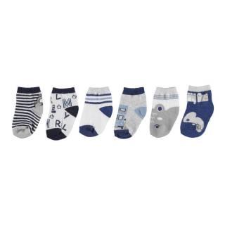 Medias - Set 6 calcetines Azul