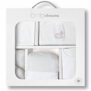 Set 5 Piezas Nacimiento Dots - Blanco Beige